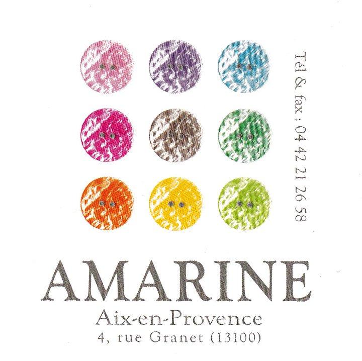 Logo Boutique Amarine Aix-en-Provence